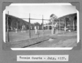Queensland State Archives 4586 Tennis Courts Stanley River Township July 1937.png