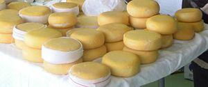 Arzúa-Ulloa cheese - Image: Queixos Arzúa Ulloa