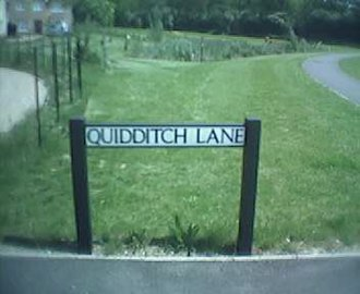 Quidditch - Quidditch Lane in Lower Cambourne