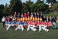 Quimet Rifé y Charly Rexach en Escola de Futbol TARR.JPG