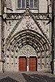 Quimper - Cathédrale Saint-Corentin - Portail - PA00090326 - 0001.jpg