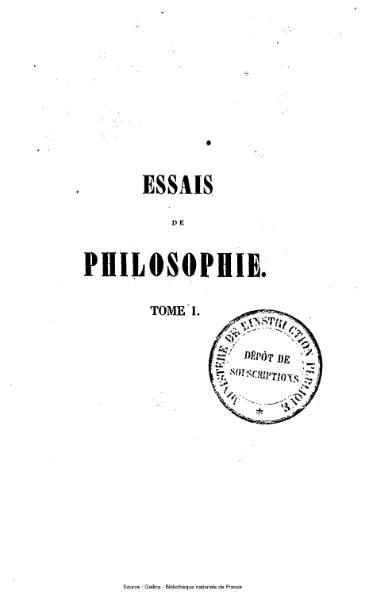 File:Rémusat - Essais de philosophie, tome 1.djvu
