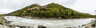 Nenana River - Rafters on the Nenana River, near Denali National Park and Preserve