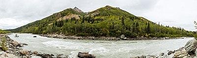 Río Nenana, Healy, Alaska, Estados Unidos, 2017-08-29, DD 53-56 PAN.jpg