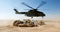 RAF Merlin Helicopter Supplies Troops in Iraq MOD 45149898.jpg