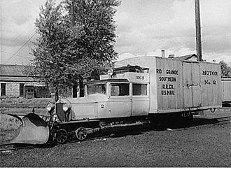 Doodlebug (rail car) - Rio Grande Southern Galloping Goose No. 2