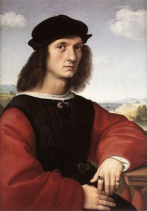 Portrait of Agnolo Doni - Image: Raffaello Ritratto di Agnolo Doni