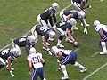 Raiders on offense at New England at Oakland 12-14-08 1.JPG