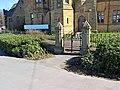 Railings and gateway, Former Burnley Grammar School.jpg