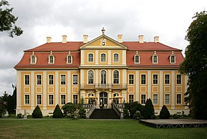 State Palaces, Castles and Gardens of Saxony - Image: Rammenau Barockschloss ex 16 ies