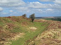 Ramparts of Castle an Dinas.jpg