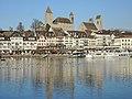 Rapperswil - Hafen - Seequai - Schloss-Stadtpfarrkirche - Seedamm 2013-12-01 14-49-20 (P7800).JPG