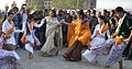 Rashmi Mittal, Pro-Chancellor, LPU, dance with students during the Annual Mega Fest 'One India' at the Lovely Professional University .jpg