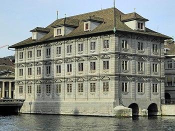 Rathaus Zürich - Limmat - Wühre 2012-09-17 17-23-13 (P7000) ShiftN.jpg