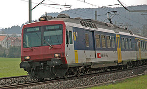 Tösstal railway line - Image: Rbde 560