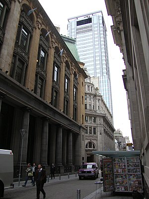 Buenos Aires Central Business District - Reconquista Street, in the area's financial center