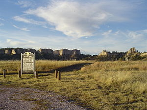 Fort Robinson - Site of the second Red Cloud Agency