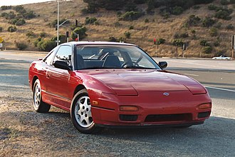 Nissan 240SX - The facelift model Nissan 240SX SE Hatchback (S13).