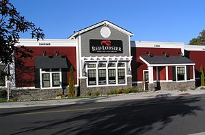 Red Lobster - Image: Red Lobster Restaurant Yonkers NY October 2012