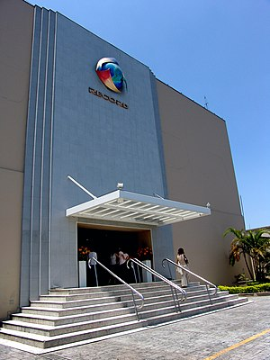 RecordTV - RecordTV's center of operations in São Paulo.