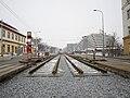 Reko TT Dlabačov - Královka, část nových kolejí.jpg