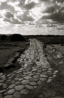Via Traiana Roman road