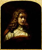 Rembrandt Titus Posing for a Study of an Angel.jpg