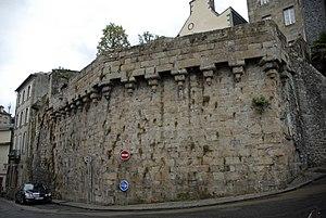 Siege of Morlaix (1594) - Image: Rempart Morlaix