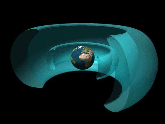 File:Rendering of Van Allen radiation belts of Earth 2 GIMP.xcf