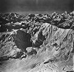 Rendu Glacier and Mount Bernard, mountain glaciers and aretes, September 12, 1973 (GLACIERS 5833).jpg