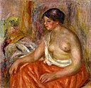 Renoir - Seated Woman with Bared Breast, Before 1918.jpg