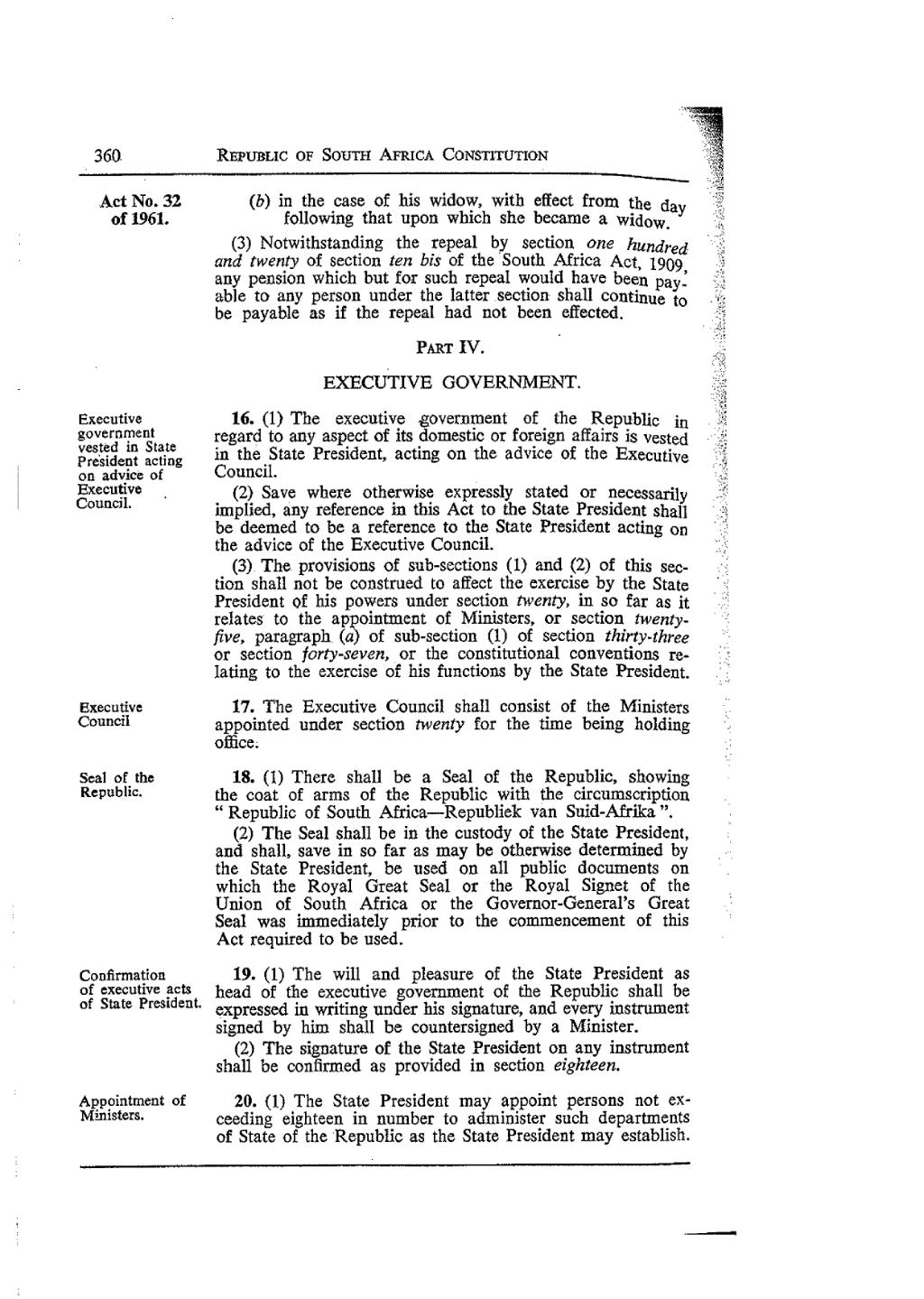 Page:Republic of South Africa Constitution Act 1961 statute