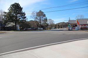 Resaca, Georgia - Intersection in Resaca