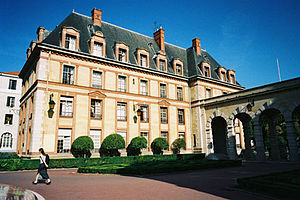 Cité Internationale Universitaire de Paris - Image: Residence andre honnorat