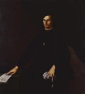 João Lourenço Rebelo - Portrait by José de Avelar Rebelo, c. 1646.