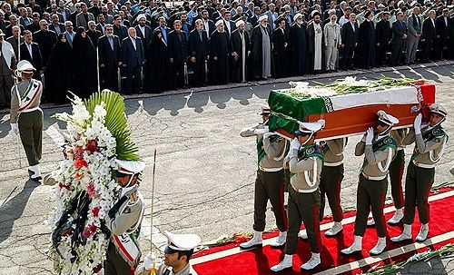 Return of deceased bodies to Mehrabad Airport, which Iranian officials is attending the event, 3 October 2015 Return of Mina stamped deceased 06.jpg