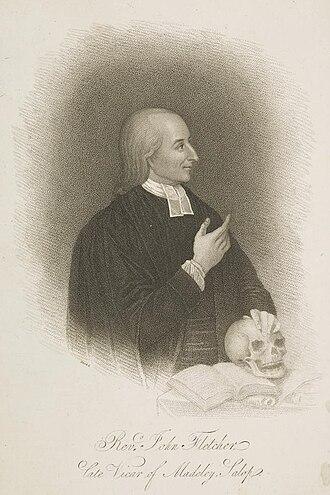 John William Fletcher - Image: Rev. John Fletcher 1729 1785 Blood