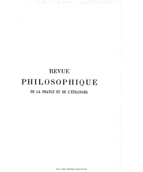 File:Ribot - Revue philosophique de la France et de l'étranger, tome 59.djvu