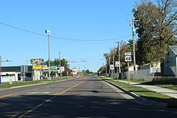 Rice Lake Wisconsin Looking north WIS48.jpg
