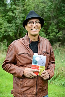 Wagamese at the Eden Mills Writers' Festival in 2013