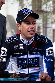 Richie Porte Australian racing cyclist