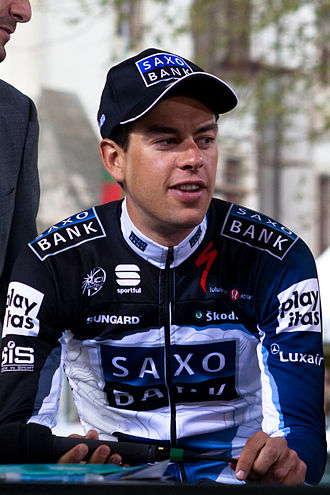 Richie Porte - Porte at the 2010 Tour de Romandie