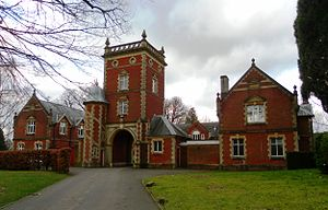 Locally listed buildings in Crawley - Image: Ridley's Court, Milton Mount Gardens, Pound Hill, Crawley (1)
