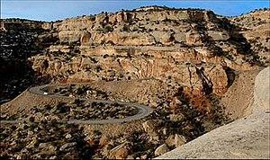 Rim Rock Drive - Image: Rim Rock Drive view