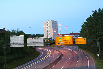 A Horizontal Curve In Oslo Norway