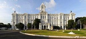 Greater Chennai Corporation - Image: Ripon Building panorama