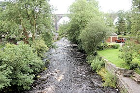 River Twiss and Ingleton Viaduct - geograph.org.uk - 882495.jpg
