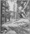 Roadway under Castle Rock, Boulder Canyon. Boulder County, Colorado. - NARA - 517498.tif
