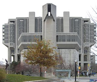 Library of the University of Toronto specialized in the humanities and social sciences