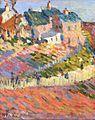 Robert Antoine Pinchon, c.1905, Travaux des champs, oil on canvas, 30.5 x 25 cm.jpeg